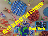 Book week 2013-Read across the universe