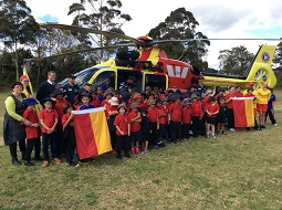 Westpac Rescue Helicopter visit
